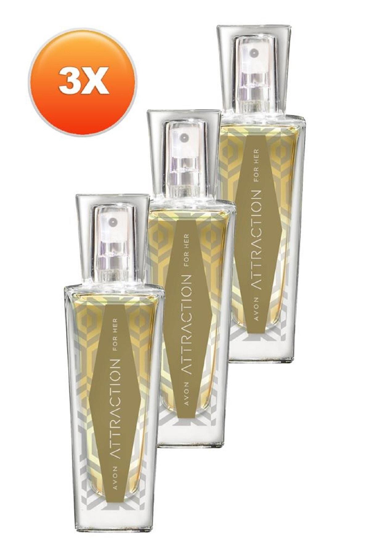 Avon Attraction Kadın Parfüm Edp 30 ml 3'lü Set 5050000103428 0