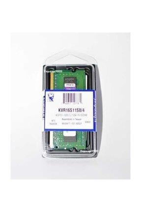Kingston 4 GB DDR3  VOLTAGE 1.5V 1600 MHz KINGSTON CL11 SODIMM (KVR16S11S8/4G) 0