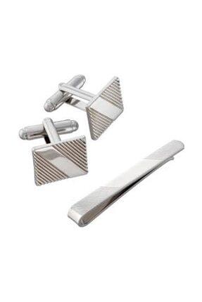 Avon Asher Kol Düğmesi Ve Kravat Iğnesi Seti 0