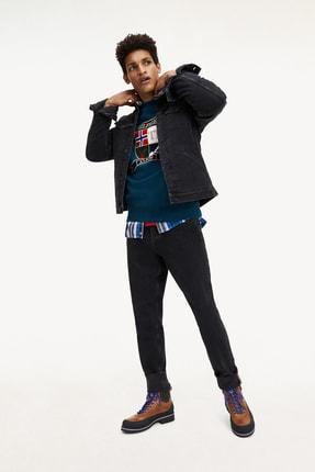 Tommy Hilfiger Erkek Th Icons Trucker Jkt Black Denım 3