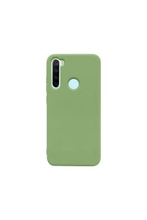 casemarkt Xiaomi Redmi Note 8 Lansman Yeşil Silikon Telefon Kılıfı Mikro Fiber Iç Yüzey 0