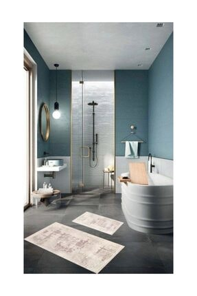 FELIX HOME Art Serısı Banyo Halı Set 2 Li 0
