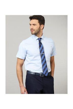 Tudors Klasik Fit Kısa Kol Erkek Gömlek 1