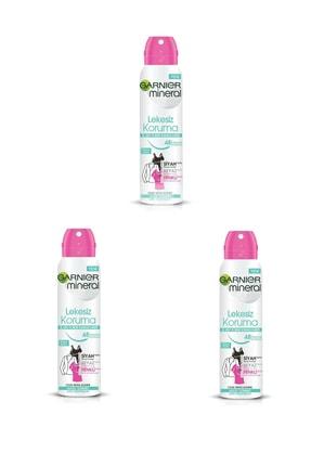 Garnier 3 Lü Set Anti - Perspirant Sprey Deodorant - Lekesiz Koruma 150 Ml 3600541928879 0
