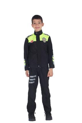 Sevimli Kids Şahin Motorize Trafik Polis Kostümü Çocuk Kıyafeti 2