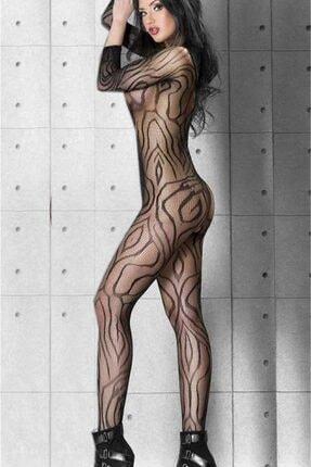 dedo Desenli Özel Belgesi Açık Vücut Çorabı 1