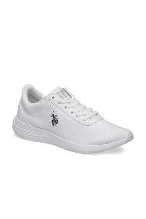 US Polo Assn Raıny Beyaz Kadın Sneaker Ayakkabı 0