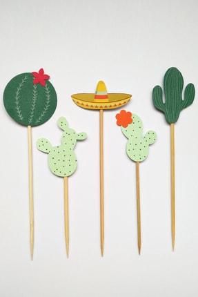 MOONMADE Meksika El Yapımı Kağıt Pasta Süsü 2