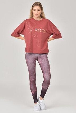 bilcee Kahverengi Kadın T-Shirt FW-1332 0