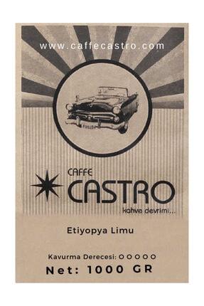 Castro Etiyopya Limu Gr2 Nitelikli Çekirdek Kahve 1000 Gr. 0