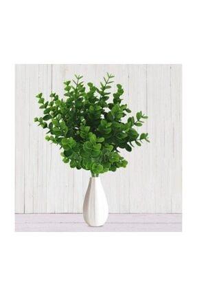 Nettenevime Yapay Çiçek Şimşir Demet Garnitür Yeşil Aradal Dekoratif Yapay Bitki 1