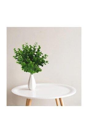 Nettenevime Yapay Çiçek Şimşir Demet Garnitür Yeşil Aradal Dekoratif Yapay Bitki 2