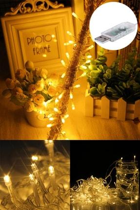 Buffer 100 Ledli Usb Bağlantılı Dekor Lambası Şerit Led Işık 10 Metre Gün Işığı 1