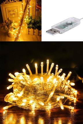 Buffer 100 Ledli Usb Bağlantılı Dekor Lambası Şerit Led Işık 10 Metre Gün Işığı 2