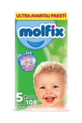 Molfix 5 Beden 324 Adet Bebek Bezi Ultra Avantaj Paketi 1