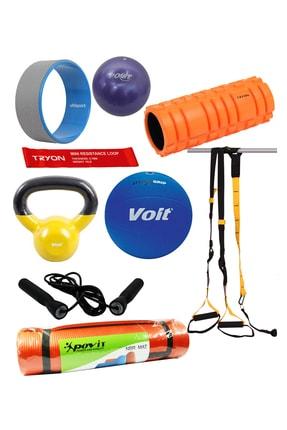 TRYON 9'li Intermediate Pro Home Kit Pilates Seti 0