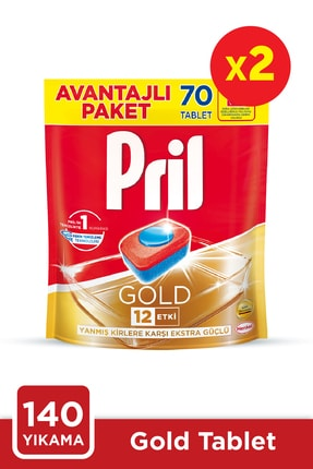Pril Gold 70 Tablet 2'li Set 0