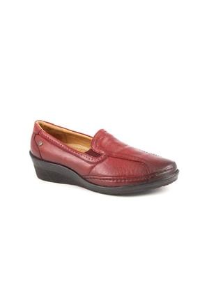 Forelli Kadın Günlük Hakiki Deri Ayakkabı 26205 0