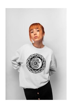 Angemiel Wear Evren Yıldızı Kadın Sweatshirt 0