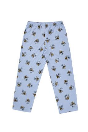 Katia & Bony Kız Çocuk Gül Pembe Bee Love Pijama Set 2