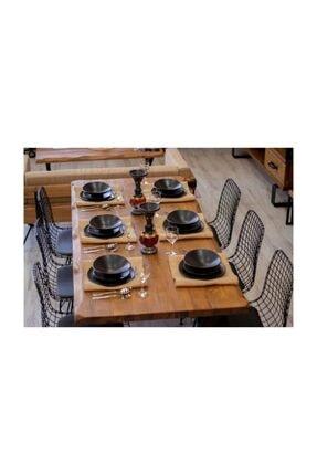 NT Concept Masif Ağaç Yemek Masası - 85cm-185cm Masa 4