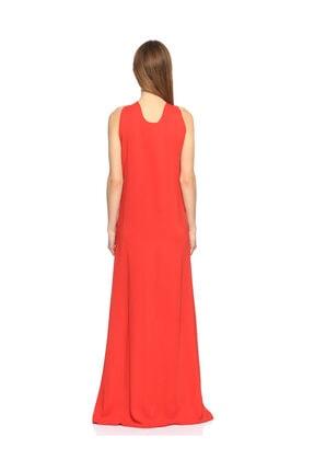 Lanvin Kırmızı Uzun Gece Elbisesi 2