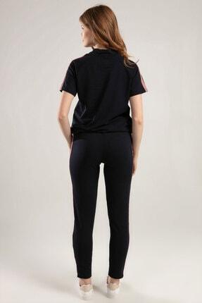 Y-London Kadın Lacivert Kısa Kollu Eşofman Takımı Y20S151-1200 3