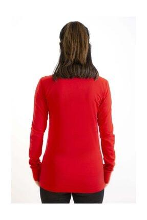 Lotto Sweatshirt Kadın Kırmızı-davide Sweat Fz Pl-r9577 3