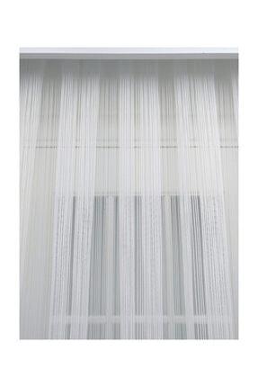 Esse Home Düz Çizgili Örme Tül Perde , Normal Pile, 1/2.5 400x250 cm 2