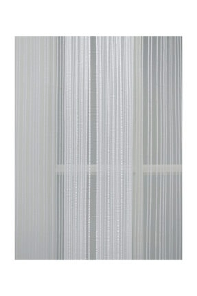 Esse Home Düz Çizgili Örme Tül Perde , Normal Pile, 1/2.5 350x250 cm 4