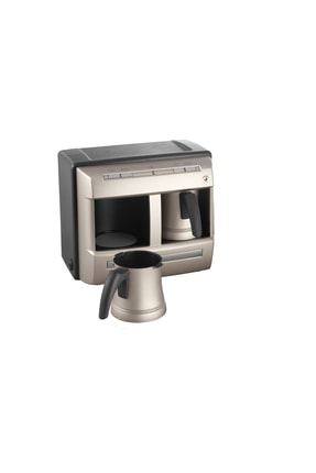 Grundig TCM 6730 Cream Gold Çiftli Otomatik Türk Kahve Makinesi 1