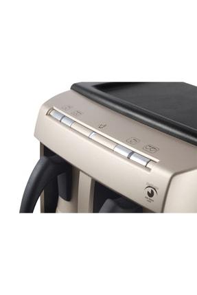 Grundig TCM 6730 Cream Gold Çiftli Otomatik Türk Kahve Makinesi 2