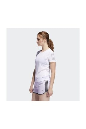 adidas Kadın Beyaz T-shirt Fm5812 Own The Run Tee 2