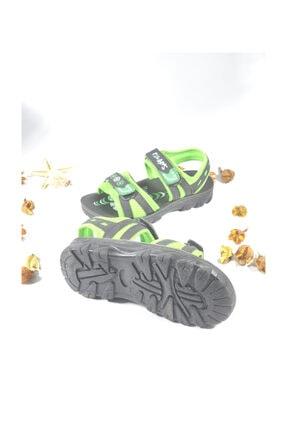Polaris Erkek Çocuk Yeşil Sandalet 1