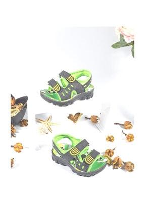Polaris Erkek Çocuk Yeşil Sandalet 2