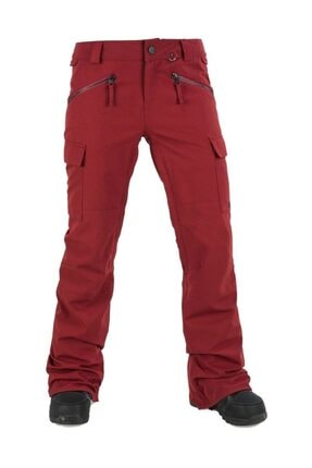 Volcom Robson Kadın Snowboard Pantolon Kırmızı 0