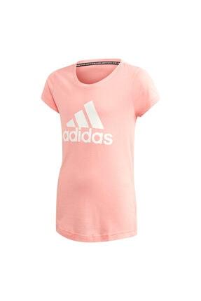 adidas Kız Çocuk Pembe Must Haves Badge T-Shirt Fm6512 0