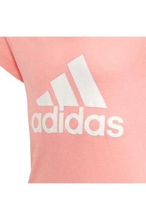 adidas Kız Çocuk Pembe Must Haves Badge T-Shirt Fm6512 2