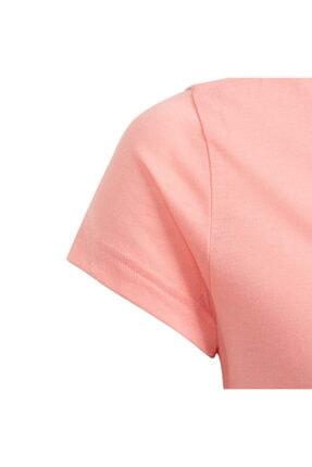 adidas Kız Çocuk Pembe Must Haves Badge T-Shirt Fm6512 3