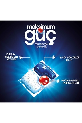 Finish Quantum Max 240 Kapsül Bulaşık Makinesi Deterjanı (48x5) 3