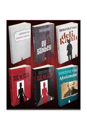 profkitap Fyodor Mihayloviç Dostoyevski Seti 6 Kitap 0