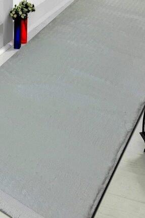 Sarar Post Halı Beyaz 80x200 cm Yüksek Kalite Kaymaz Taban Saçaklı Halı 1