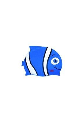 Nubutik's Erkek Çocuk Mavi Desenli Deniz Bonesi 0