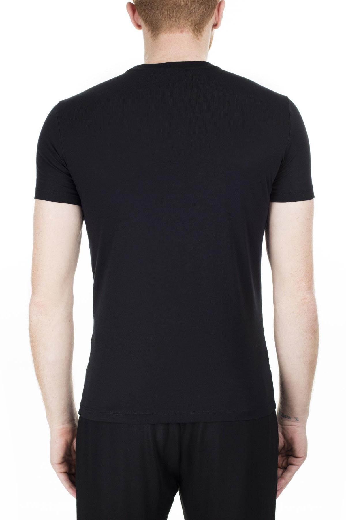 Emporio Armani Siyah Erkek T-Shirt 8N1T99 1JNQZ 0999 1