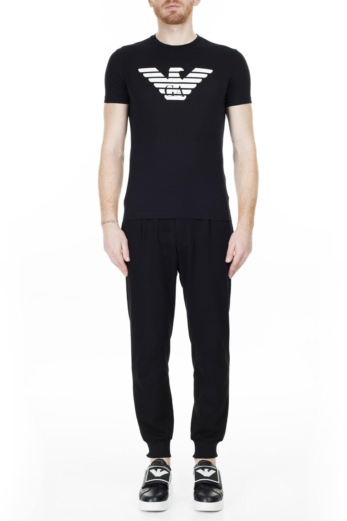 Emporio Armani Siyah Erkek T-Shirt 8N1T99 1JNQZ 0999 4