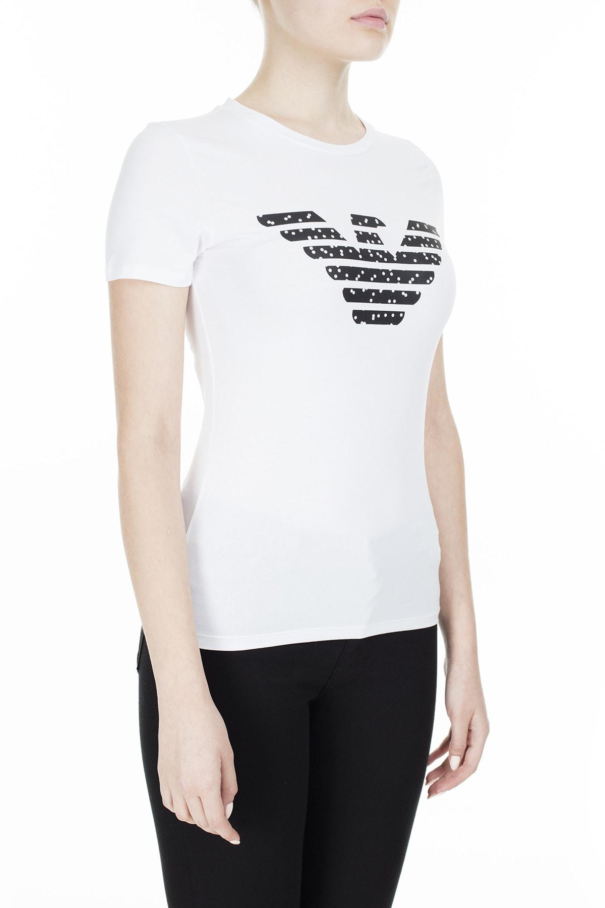 Emporio Armani T Shirt Kadın T Shirt S 6G2T7N 2J07Z 0100 S 6G2T7N 2J07Z 0100 3