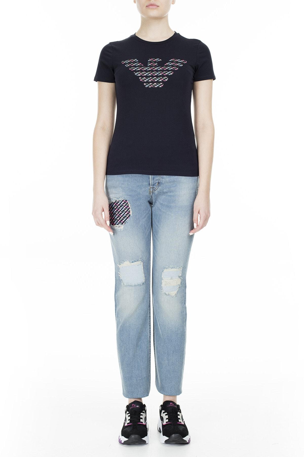 Emporio Armani T Shirt Kadın T Shirt S 6G2T7N 2J07Z 0927 S 6G2T7N 2J07Z 0927 4