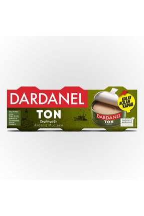 Dardanel Zeytinyağlı Ton Balığı 3X75 G 0