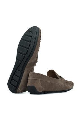Navigli Hakiki Deri Kum Rengi Erkek Ayakkabı 56442310S 3
