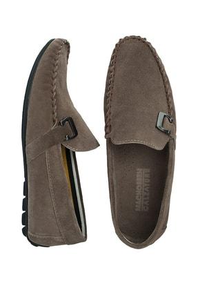 Navigli Hakiki Deri Kum Rengi Erkek Ayakkabı 56442310S 4